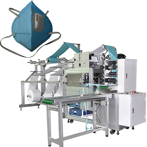 N95 Folding Mask Production Line (Headband Type)