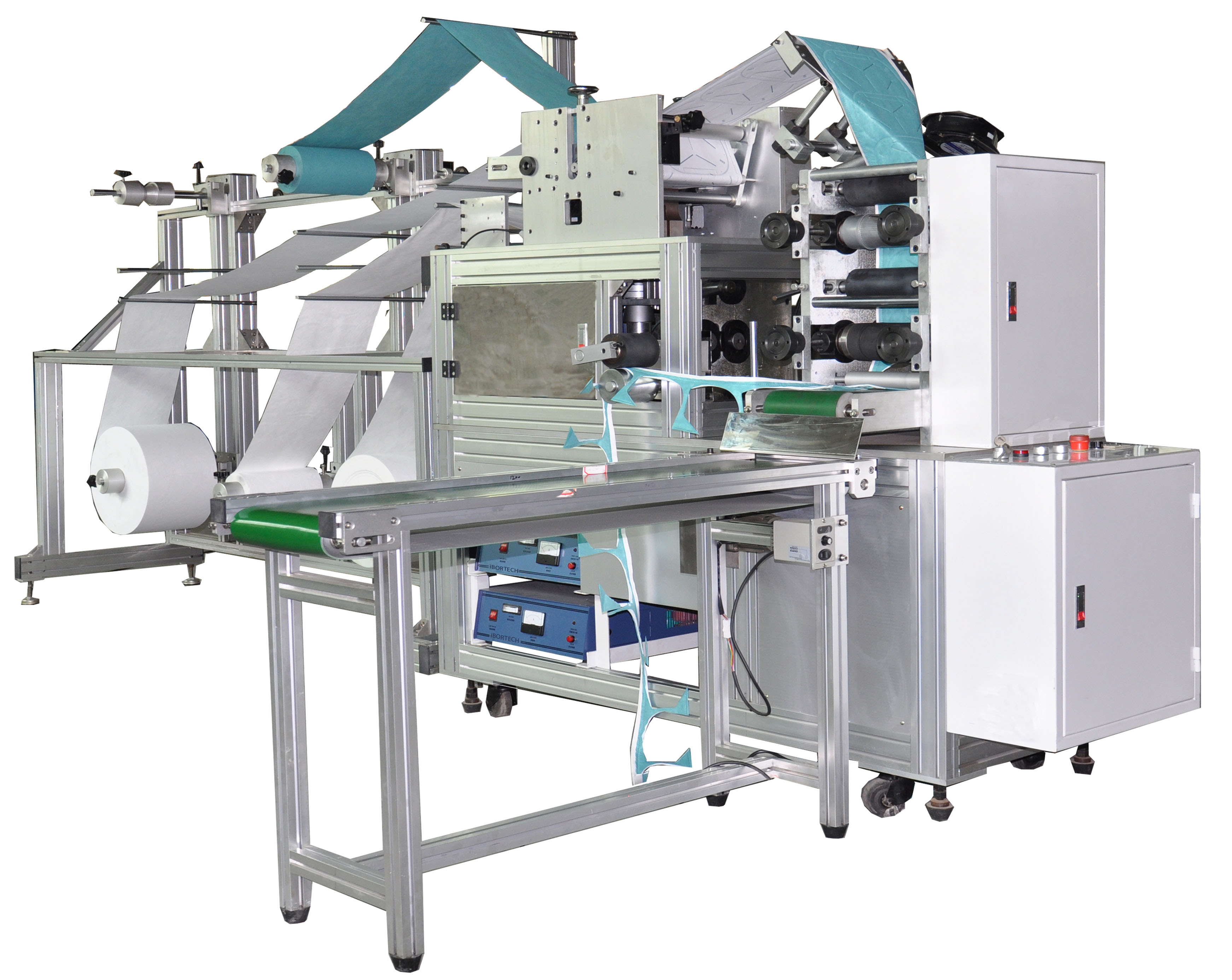 Automatic Blank Folding Mask Making Machine