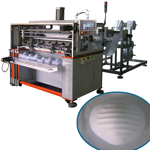 Cup-like Mask Hot Forming Machine