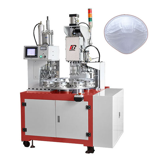 Rotary Table  Sealing & Cutting Machine  for N95 Cup-like Mask