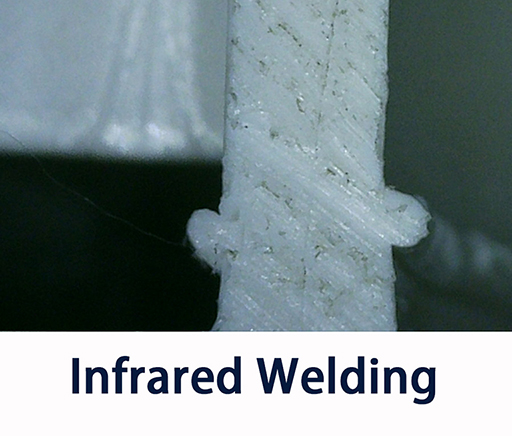 Infrared Welding Result